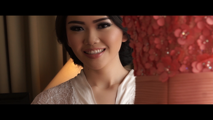 "Pahat Wedding Highlight - Andreas & Noviana ""DECLARATION OF LOVE"" by Imelda Hudiyono Bride - 004"