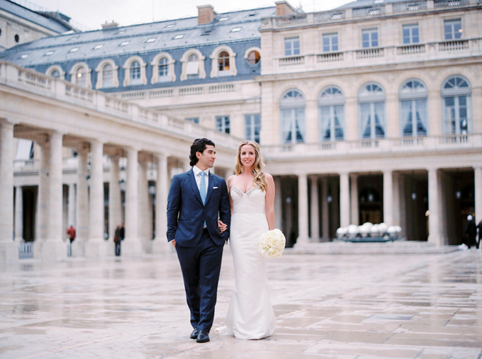 Real Wedding of Meredith & Gabe by Luxe Paris Events - 005