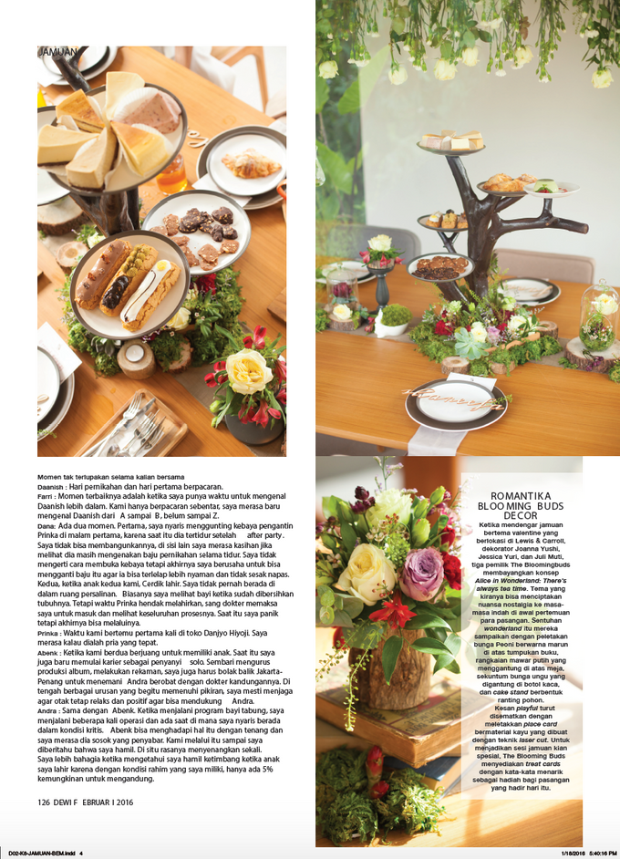 Mad Hatter Valentine Partea for Dewi Magazine by The Bloomingbuds - 002