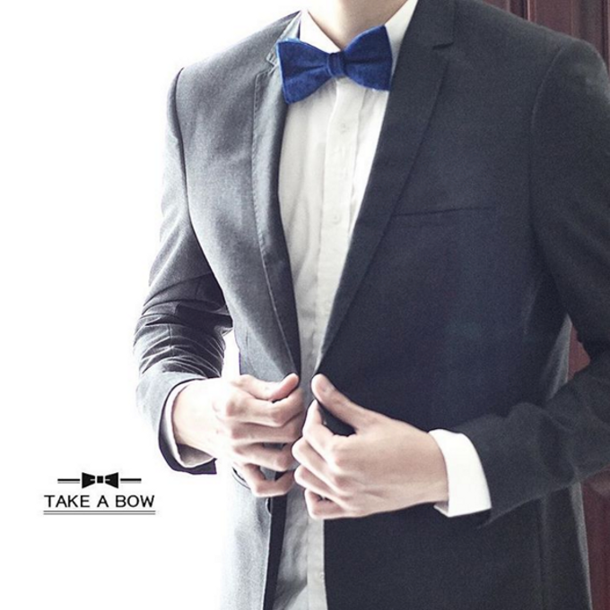 Custom-made Bow Ties for Wedding by Take A Bow Tie - 001