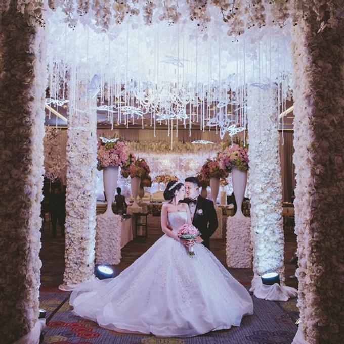 Romantic Wedding of David & Nerissa by Jennifer Natasha - Jepher - 004