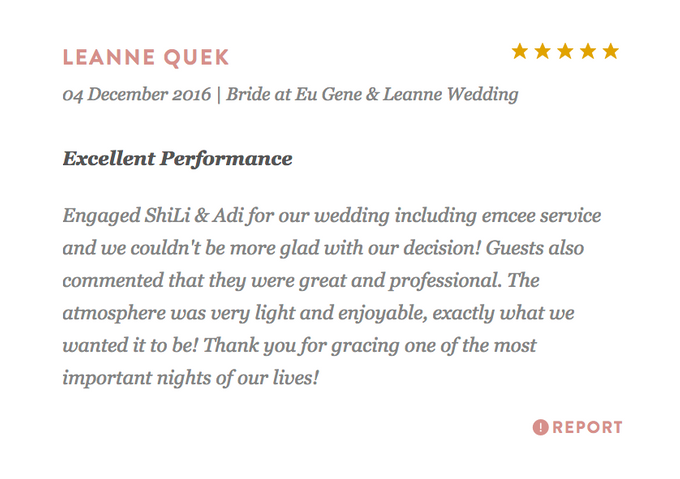 Testimonials from Wedding Couples by Merry Bees Live Music - 030