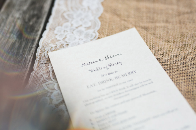 An Intimate Wedding With Rustic  Details by LITTLE ISLAND BREWING CO. - 011