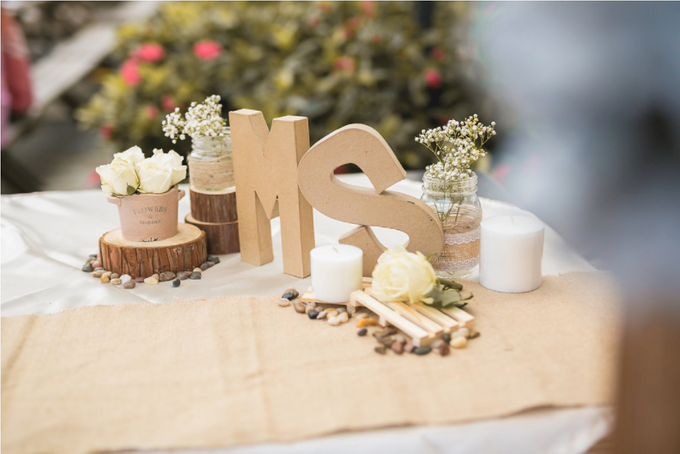 An Intimate Wedding With Rustic  Details by LITTLE ISLAND BREWING CO. - 013