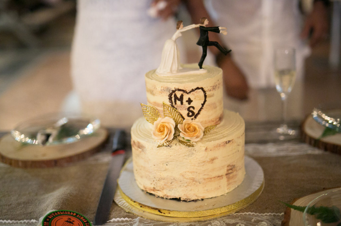 An Intimate Wedding With Rustic  Details by LITTLE ISLAND BREWING CO. - 020