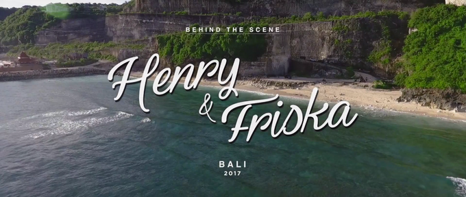 Henry & Friska Bali Pre-Wedding Behind the Scene by Picomo - 001