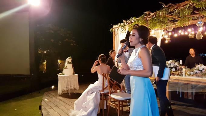 Ken & Angela's Wedding Reception at Pandawa Cliff Estate by MC Nirmala Trisna - 003