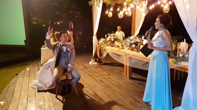 Ken & Angela's Wedding Reception at Pandawa Cliff Estate by MC Nirmala Trisna - 004