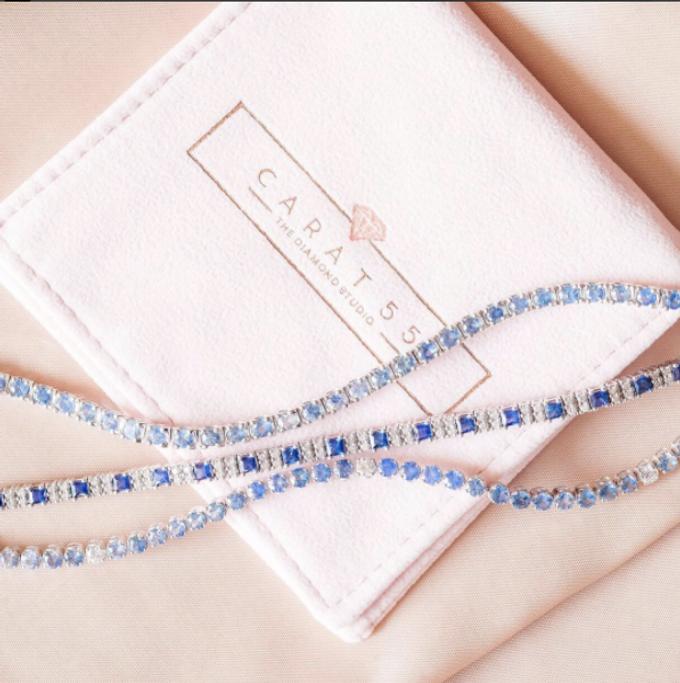 Something Blue - Tennis Bracelets by Carat 55 - 001