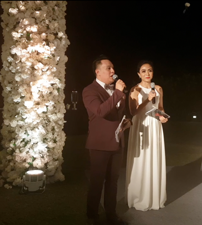 Hans & Sheila Wedding Reception at The Ritz Carlton Bali by MC Nirmala Trisna - 003