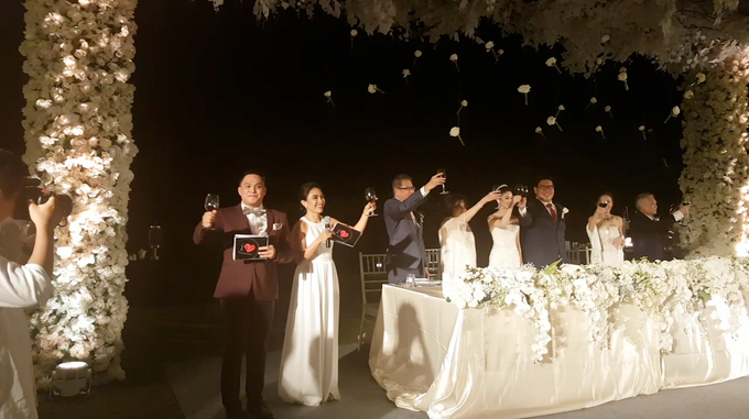Hans & Sheila Wedding Reception at The Ritz Carlton Bali by MC Nirmala Trisna - 001