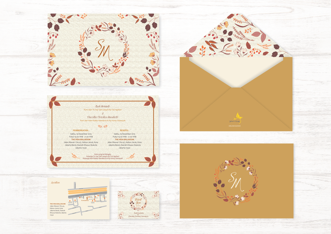 Wedding Invitation by Golden Dove - 005
