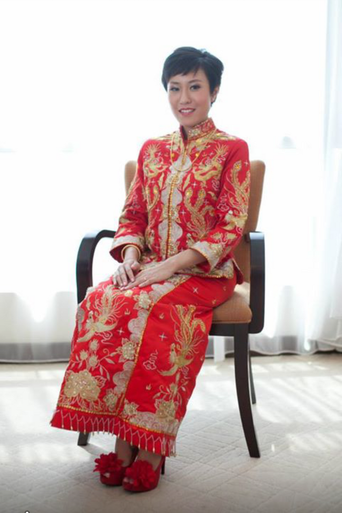 Oriental Chinese Wedding by Christy Ng Shoes - 014