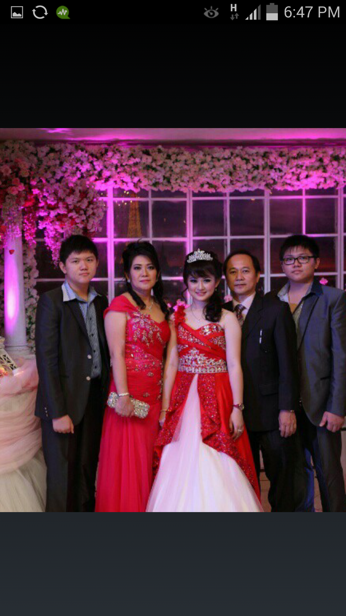 Presweet 17 and sweet 17th by Xinxin Make Up - 005