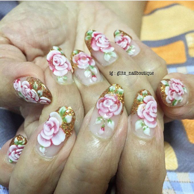 3d nail art by Brows To Toes - 017