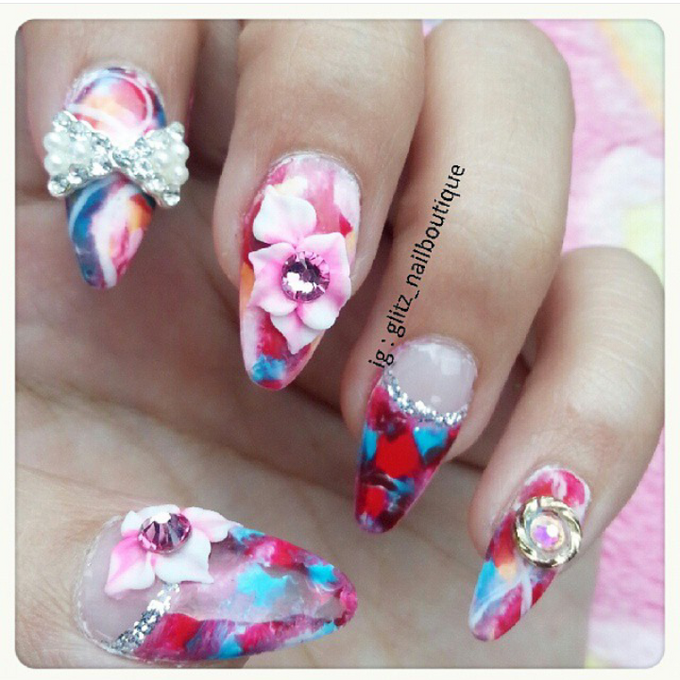 3d nail art by Brows To Toes - 007