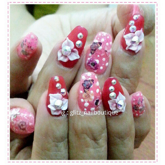 3d nail art by Brows To Toes - 009