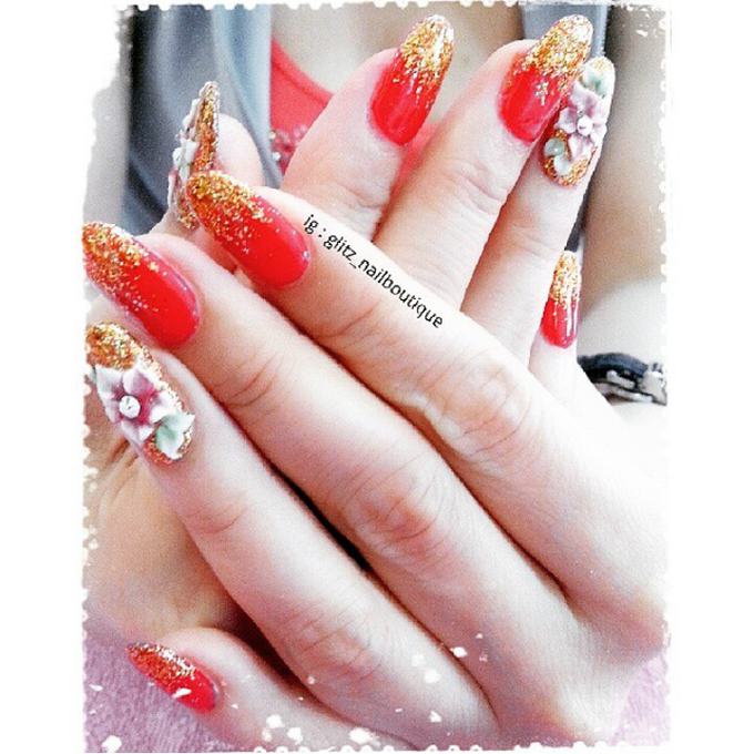 3d nail art by Brows To Toes - 010