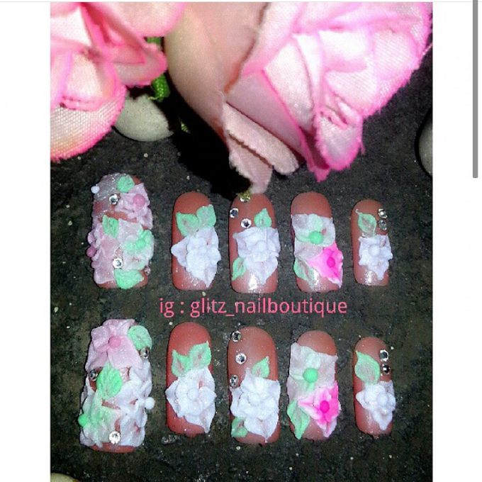 3d nail art by Brows To Toes - 011