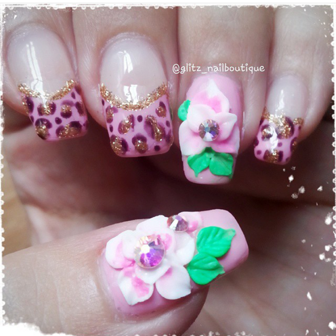 3d nail art by Brows To Toes - 013