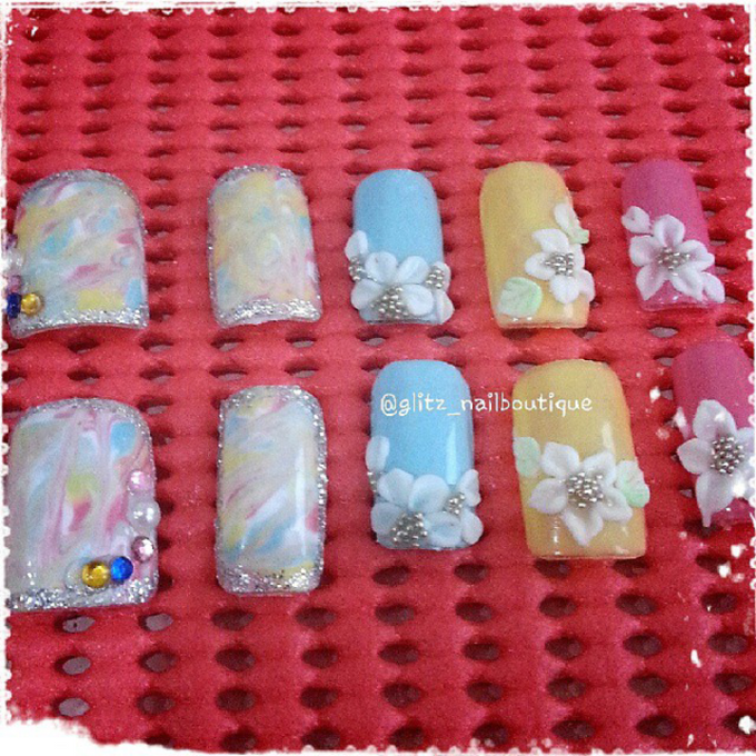 3d nail art by Brows To Toes - 014