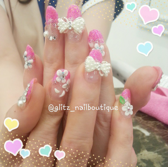 3d nail art by Brows To Toes - 016
