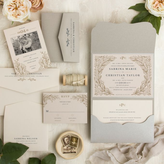 New Wedding Designs by Paper Pressed  - 002
