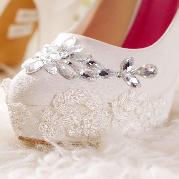 SLIGHT Sepatu Platform gloria Putih by SLIGHTshop.com - 002