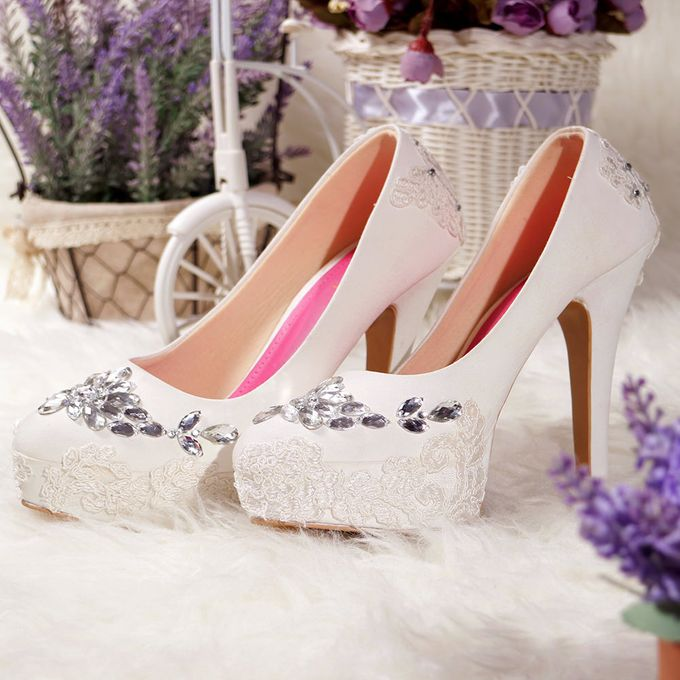 SLIGHT Sepatu Platform gloria Putih by SLIGHTshop.com - 003