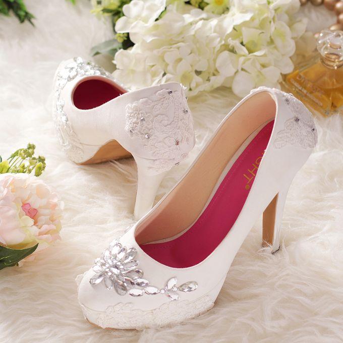 SLIGHT Sepatu Platform gloria Putih by SLIGHTshop.com - 006