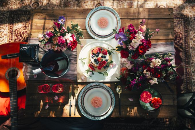 Boho Romance in the Woods by Keira Floral - 013