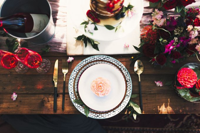 Boho Romance in the Woods by Keira Floral - 015