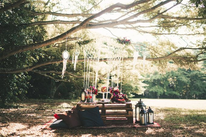 Boho Romance in the Woods by Keira Floral - 001