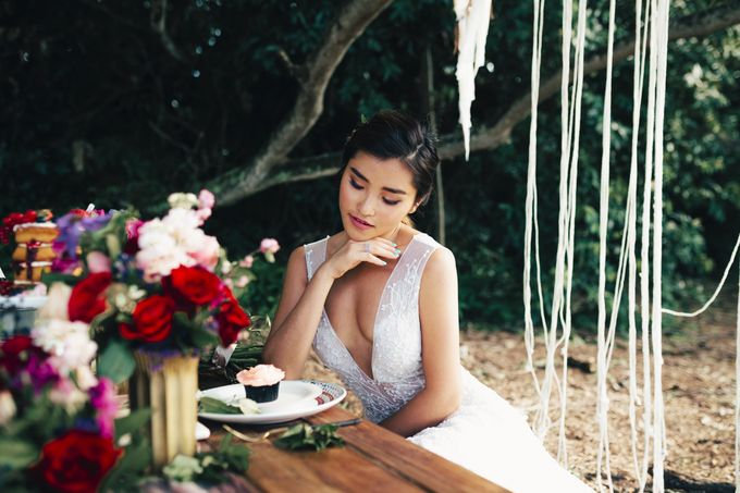 Boho Romance in the Woods by Keira Floral - 023