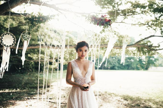 Boho Romance in the Woods by Keira Floral - 003
