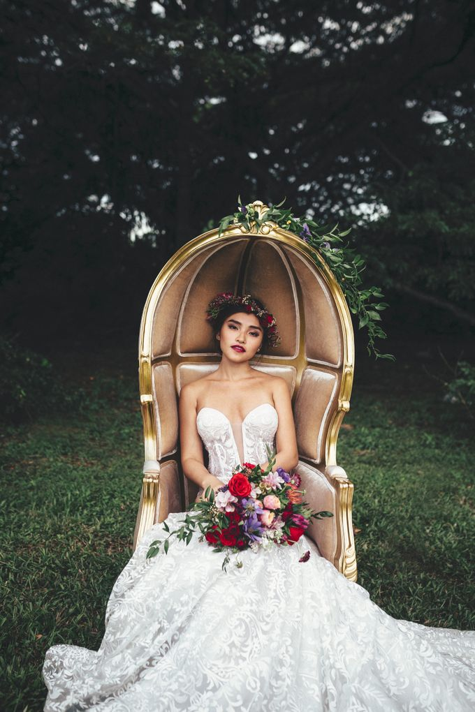 Boho Romance in the Woods by Keira Floral - 031