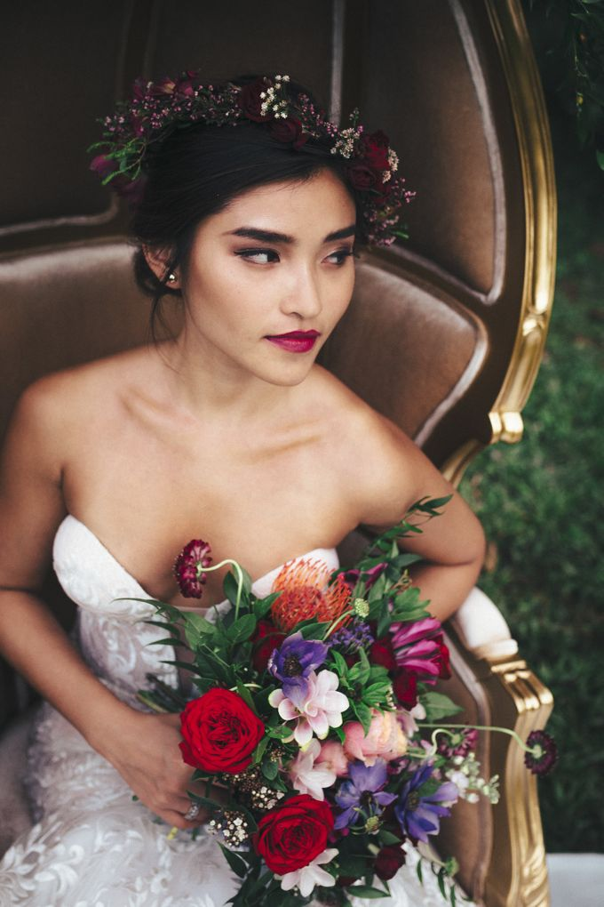 Boho Romance in the Woods by Keira Floral - 033