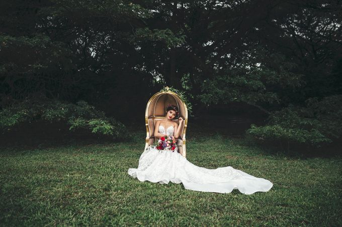 Boho Romance in the Woods by Keira Floral - 024