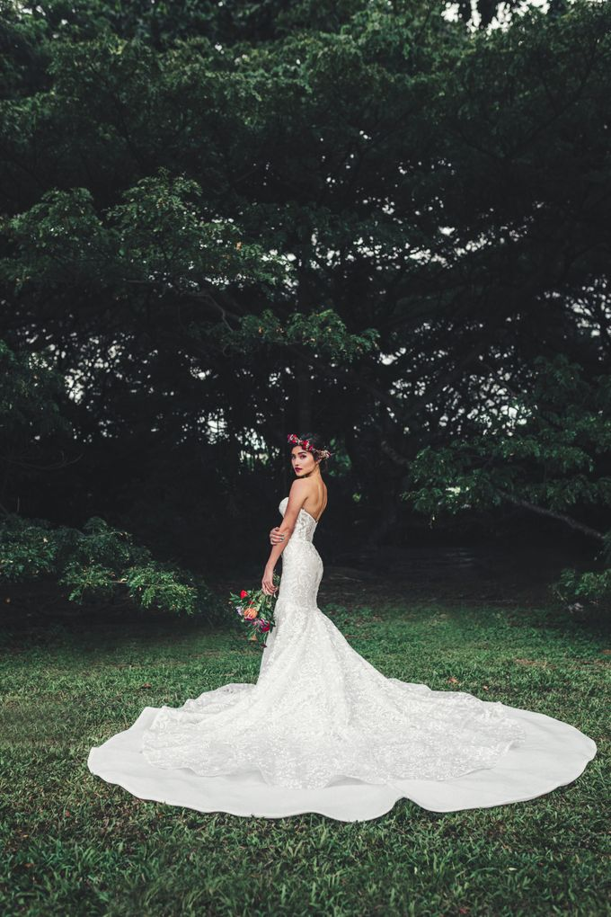 Boho Romance in the Woods by Keira Floral - 025