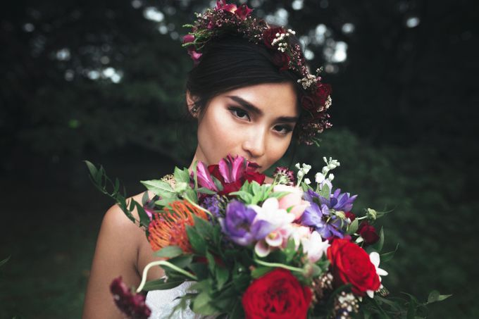 Boho Romance in the Woods by Keira Floral - 027