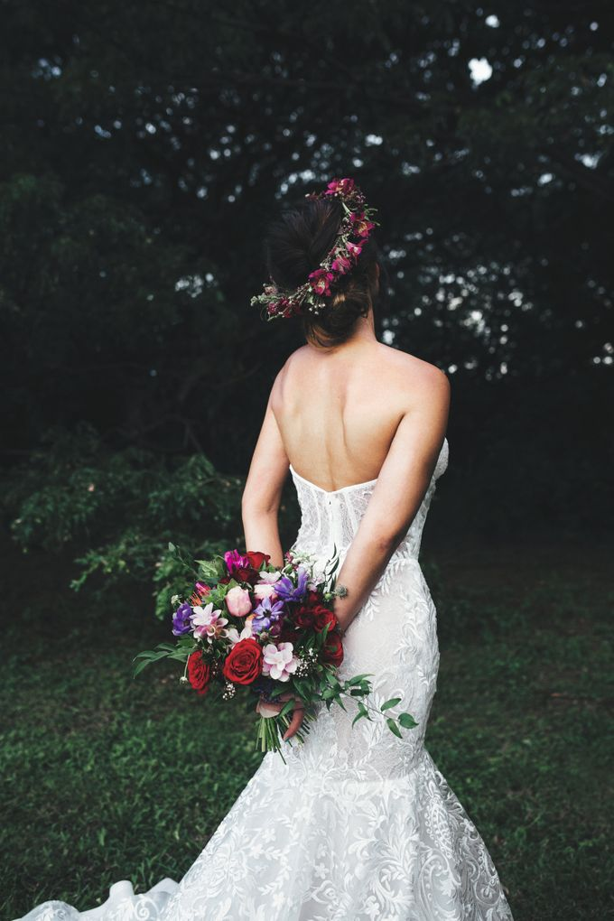 Boho Romance in the Woods by Keira Floral - 028