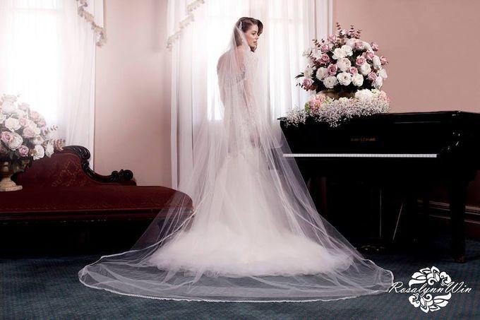 Wedding Veils by Rosalynn Win Haute Couture - 002