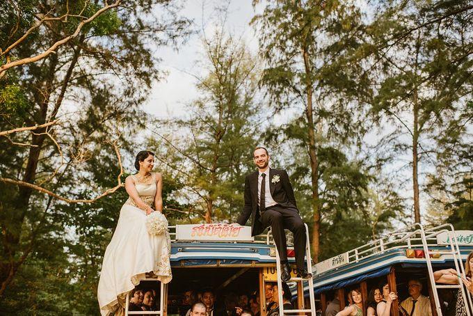 Multi-cultural resort wedding by Luxury Events Phuket - 050