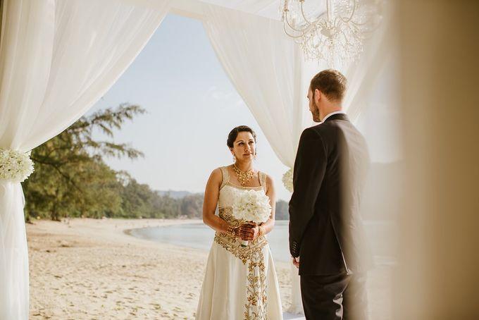 Multi-cultural resort wedding by Luxury Events Phuket - 042
