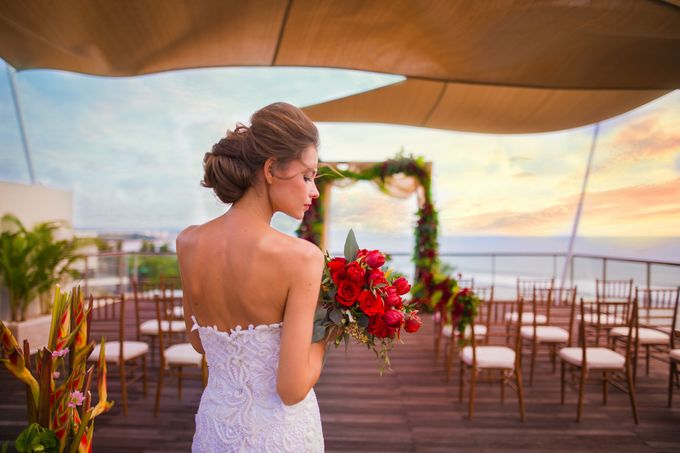 Wedding at Bene Rooftop by Sheraton Kuta by Sheraton Bali Kuta Resort - 001