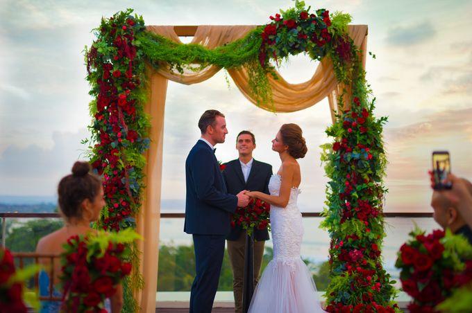 Wedding at Bene Rooftop by Sheraton Kuta by Sheraton Bali Kuta Resort - 004