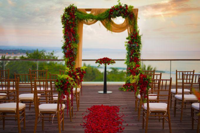 Wedding at Bene Rooftop by Sheraton Kuta by Sheraton Bali Kuta Resort - 002