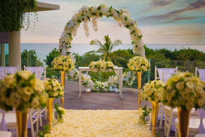 Intimated Sunset Wedding Sheraton Kuta by Sheraton Bali Kuta Resort - 003