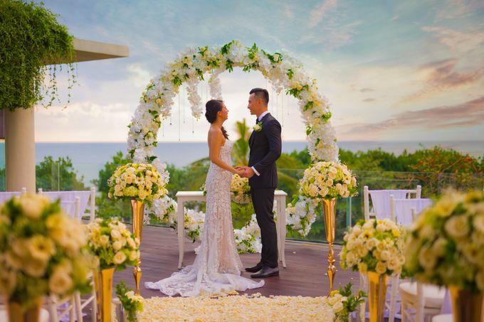 Intimated Sunset Wedding Sheraton Kuta by Sheraton Bali Kuta Resort - 002