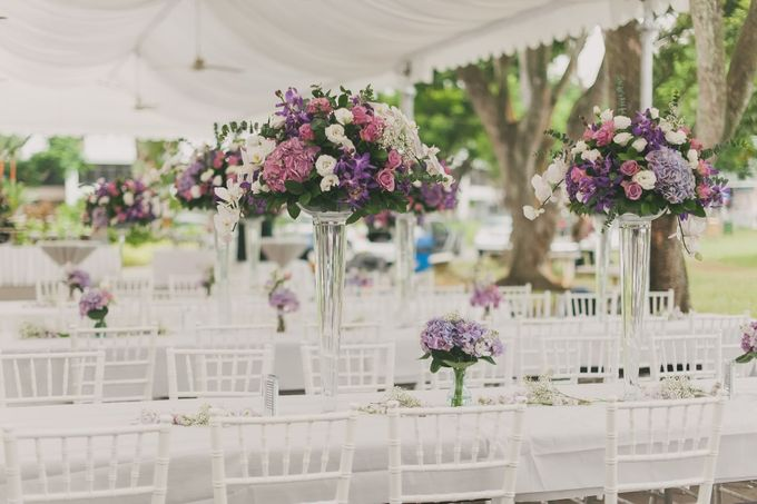 Decoration - Long tables set-up by Spellbound Weddings - 007
